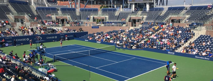 Grandstand - Billie Jean King National Tennis Center is one of US Open.