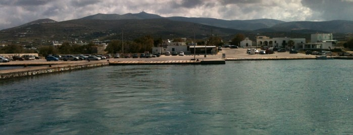 Port of Pounta is one of Paros Top.