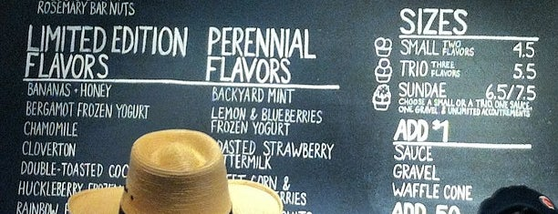 Jeni's Splendid Ice Creams is one of Nashville and Franklin.