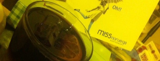 Miss Noruega Gastro Bar is one of Restaurantes que admiten cheques Gourmet.