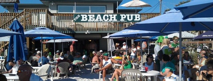 The Beach Pub is one of Zych's day on the beach. FMB.