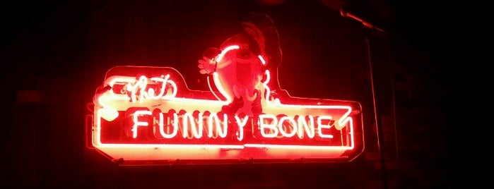Funny Bone Comedy Club is one of Great Entertainment at Westport Plaza.