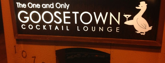 Goosetown Lounge is one of Bars SJ.