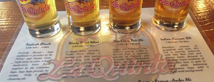La Quinta Brewing Co. is one of Breweries - Southern CA.