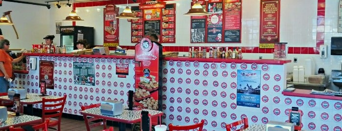 Firehouse Subs is one of 20 favorite restaurants.