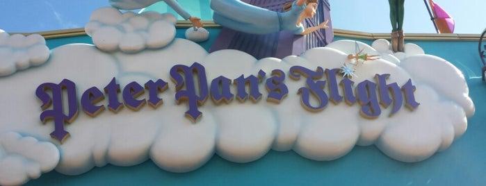 Peter Pan's Flight is one of Walt Disney World.
