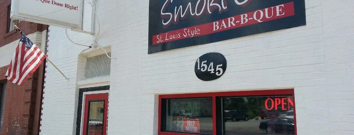 Smoki O's Bar-B-Que is one of Mission: Eat Pulled Pork at every STL BBQ Joint.