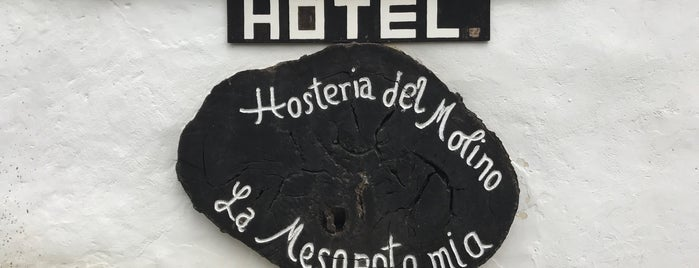 Molino La Mesopotamia is one of Hotels.