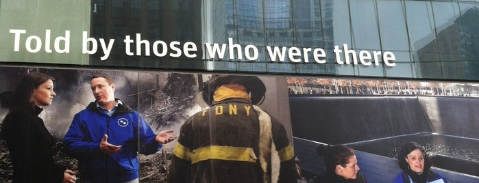 9/11 Tribute Center is one of NY abril 2015.
