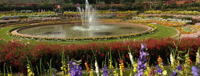 Mughal Gardens is one of Date spots.
