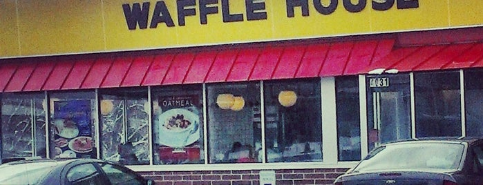 Waffle House is one of Favorites.