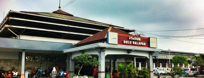 Stasiun Solo Balapan is one of My List.