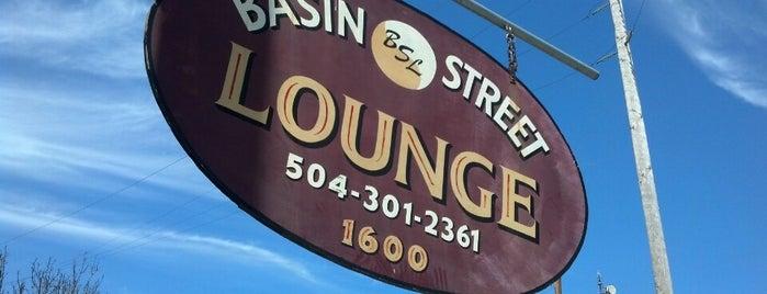 Basin Street lounge is one of NOLA.