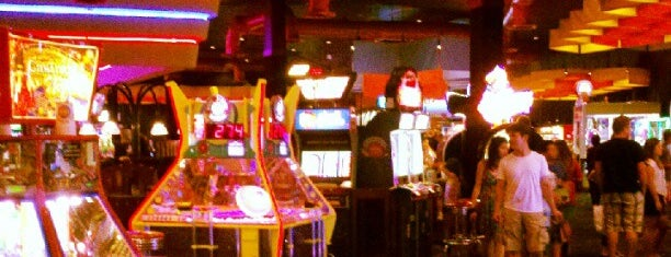 Dave & Buster's is one of OC nightlife spots.