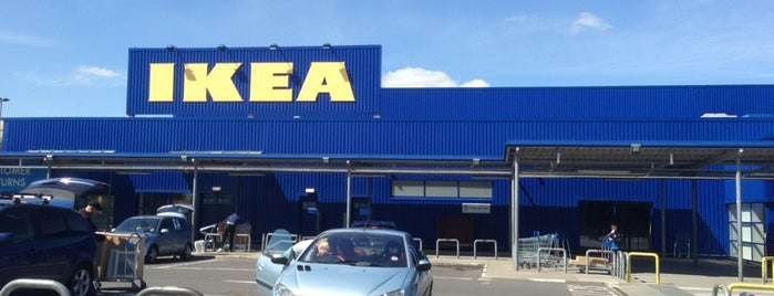 IKEA is one of Good places to go shopping.