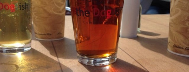 The Dogfish Bar & Grille is one of Good Eats in New England.