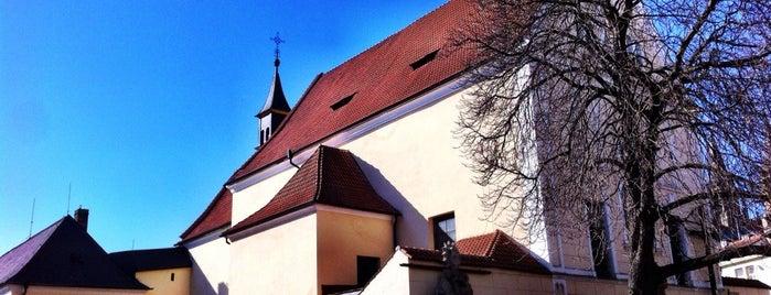 Kostel Nejsvětější Trojice is one of churches.
