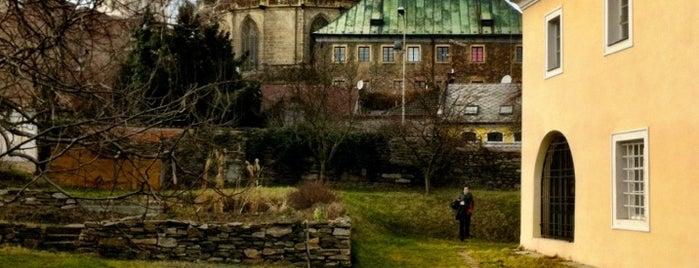 Jezuitský/kapucínský klášter - exerciční dům is one of churches.