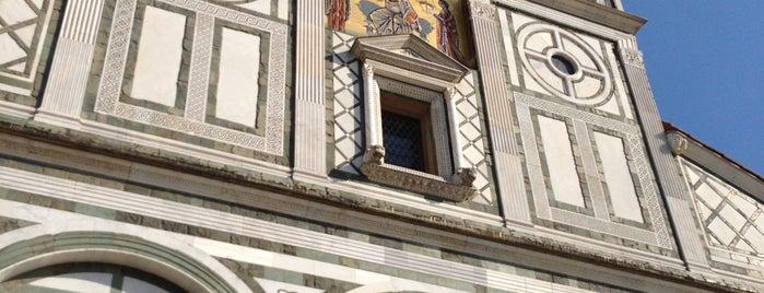 Basilica di San Miniato al Monte is one of Floransa.