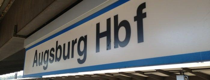 Augsburg Hauptbahnhof is one of Bahnhöfe Deutschland.