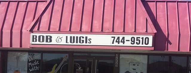Bob and Luigi's is one of Places I Need to Eat!.