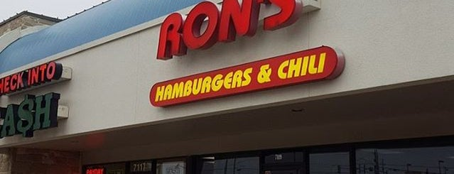 Ron's Hamburgers & Chili is one of The 15 Best American Restaurants in Tulsa.