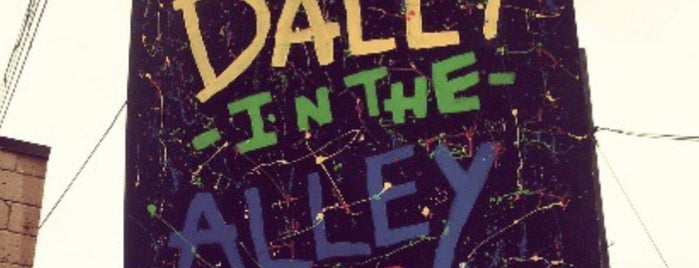 Dally in the Alley is one of favs.