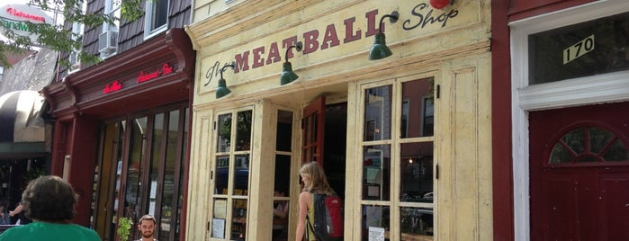 The Meatball Shop is one of The 15 Best Italian Restaurants in Brooklyn.
