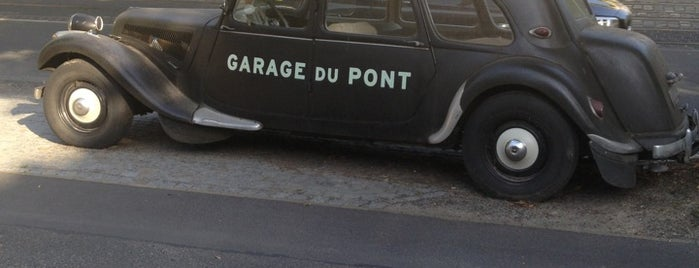 Garage Du Pont is one of How To Make It, Potsdam.