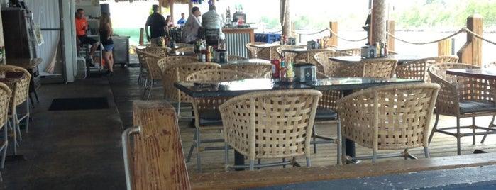 Jimbo's Sandbar is one of Peewee's Big Ass South Florida Food Adventure!.