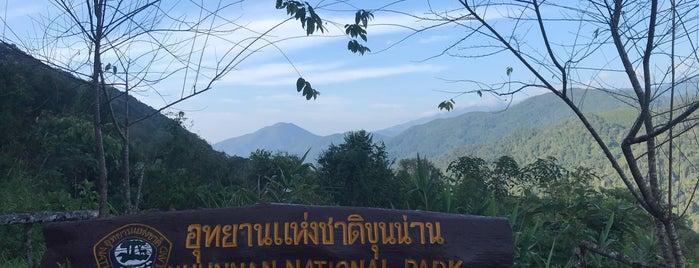อุทยานแห่งชาติขุนน่าน is one of ลำพูน, ลำปาง, แพร่, น่าน, อุตรดิตถ์.