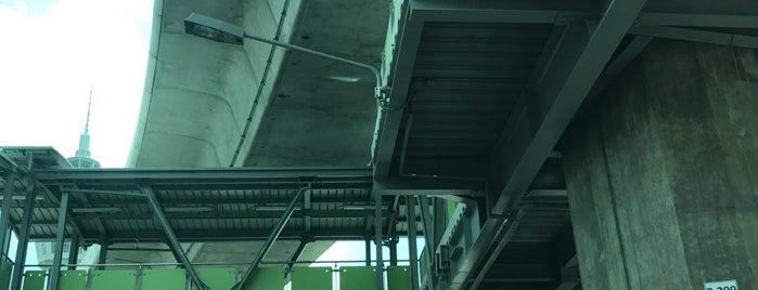 [Construction Site] BTS Samut Prakan City Hall is one of BTS - Light Green Line (Sukhumvit Line).
