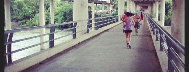 Lady Bird Lake Trail is one of Top urban bike paths in the U.S..