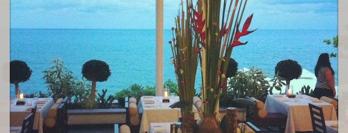 RockPool Restaurant is one of Ko Samui Paradise = Peter's Fav's.