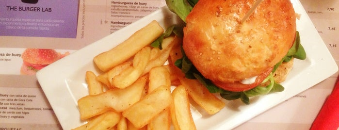 The Burger Lab is one of Madrid comida resacosa.