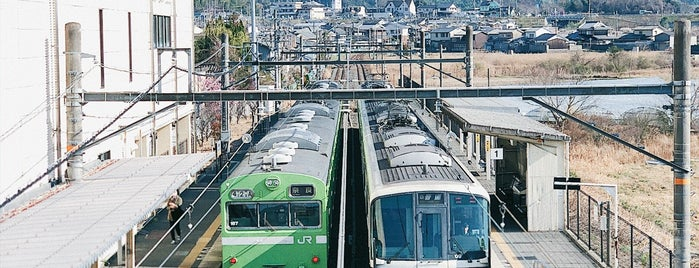 Yamashiro-Aodani Station is one of アーバンネットワーク 2.