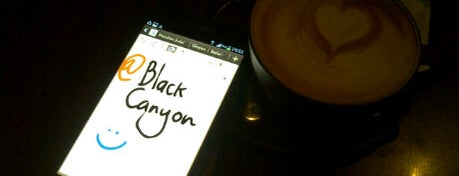 Black Canyon Coffee is one of r.
