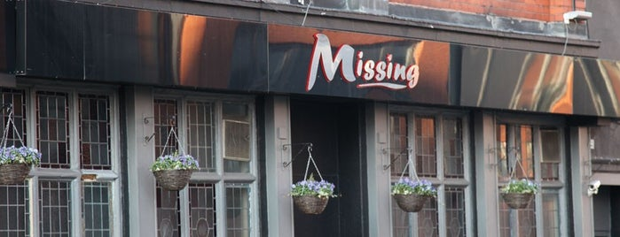 Missing is one of Top picks for Gay Bars.