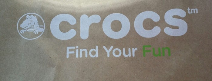 Crocs is one of Shopping.