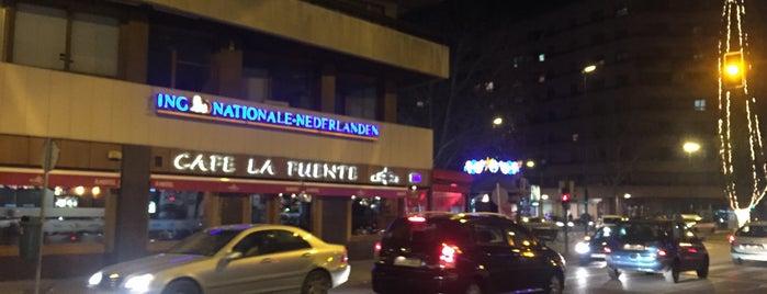 Café La Fuente is one of Albacete & Mahou.