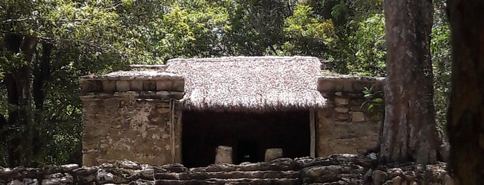 Zona Arqueológica Muyil is one of Mexico // Cancun.