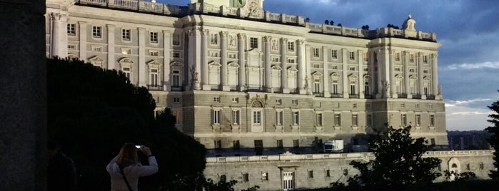 Royal Palace of Madrid is one of Madrid cultural.