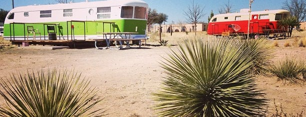 El Cosmico is one of Marfa.
