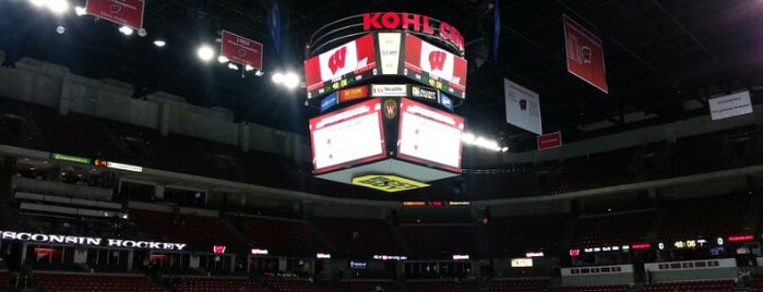 The Kohl Center is one of College Basketball Venues.