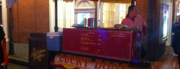 Lucky Dogs is one of What we love about New Orleans.