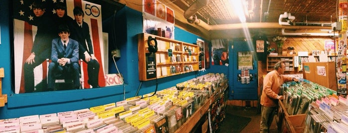 Pure Pop Records is one of Burlington.