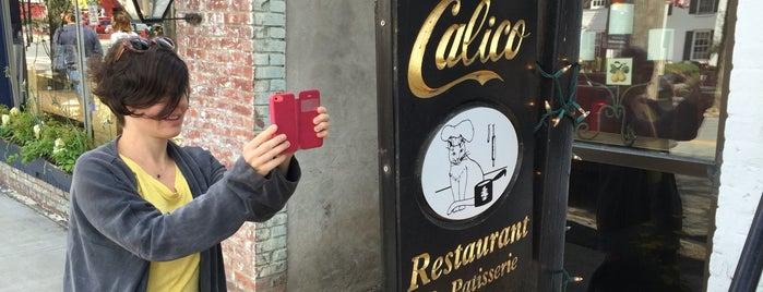 Calico Restaurant & Patisserie is one of CIA Alumni Restaurant Tour.