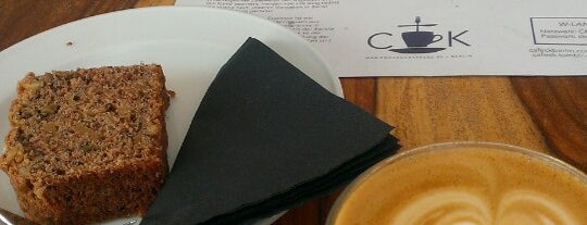 CK Café is one of Berlin: to be discovered.