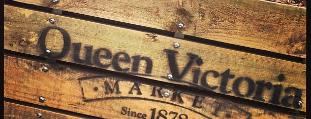Queen Victoria Market is one of Melbourne.