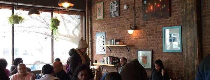 PLG Coffee House and Tavern is one of Crown Heights Coffices.